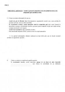 Proiect didactic - Circuitul materiei și fluxul energiei în ecosistem - Pagina 2