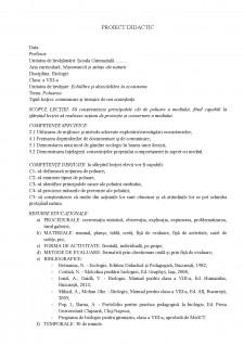 Proiect didactic - poluarea - Pagina 3