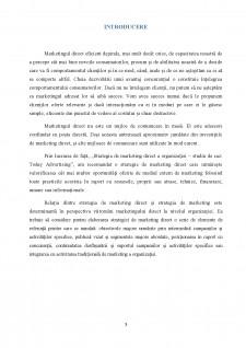 Strategia de marketing direct a organizației - studiu de caz Today Advertising - Pagina 4