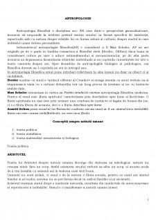 Antropologie - Pagina 1