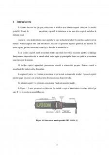 Dezvoltarea unui sistem de detecție a corpurilor conductoare - Pagina 3