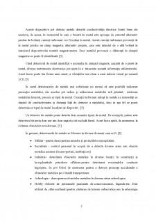 Dezvoltarea unui sistem de detecție a corpurilor conductoare - Pagina 5