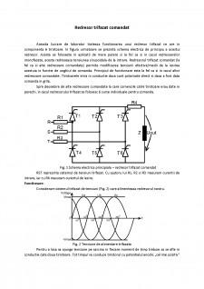 Redresor trifazat comandat - Pagina 1