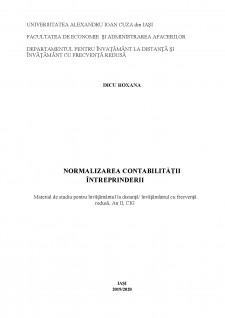 Normalizarea contabilității întreprinderii - Pagina 1