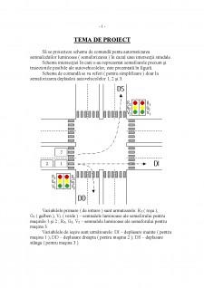 Schema de comandă pentu automatizarea semnalizărilor luminoase - Pagina 1
