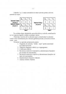 Schema de comandă pentu automatizarea semnalizărilor luminoase - Pagina 2