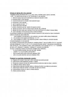 Schemă de comandă a ciclului automat pentru realizarea de canale rectangulare j pe o mașina de frezat - Pagina 3