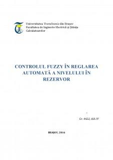 Controlul Fuzzy în reglarea automată a nivelului în rezervor - Pagina 1