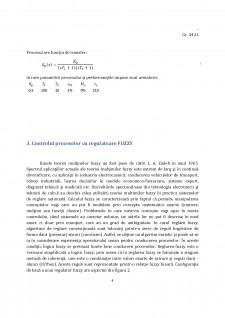 Controlul Fuzzy în reglarea automată a nivelului în rezervor - Pagina 4