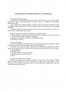 Tranzacții bursiere derulate la Bursa de Valori București - Pagina 1