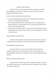 Drepturi reale, rezumat materie - Pagina 1