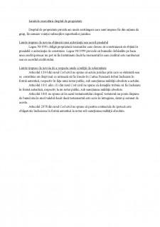 Drepturi reale, rezumat materie - Pagina 4
