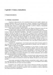 Suport curs criminalistică - Pagina 2