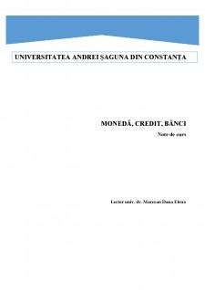 Moneda, credit, bănci - Pagina 1