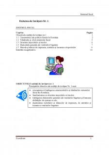 Sistemul fiscal - Pagina 1