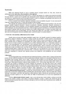 Teorii etice - Pagina 1