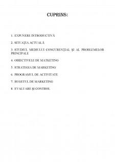 Plan de marketing al SC Comod SRL - Pagina 2