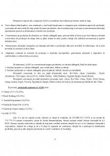 Raport de analiza Alro SA - Pagina 3