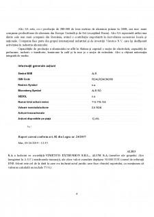 Raport de analiza Alro SA - Pagina 4