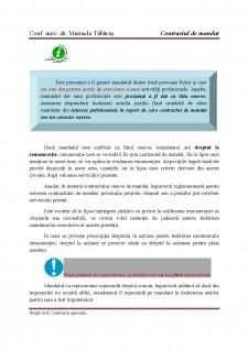 Contract de mandat - Pagina 2