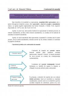 Contract de mandat - Pagina 3