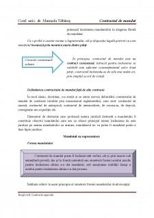 Contract de mandat - Pagina 4