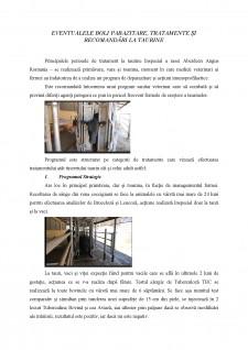 Eventualele boli parazitare, tratamente și recomandări la taurine - Pagina 1