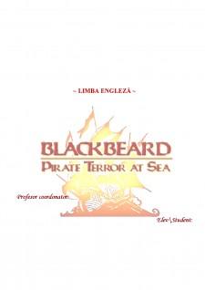 Black Beard - Piratul care a terorizat mările - Pagina 1