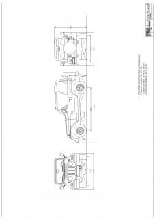 Autoturism de teren echipat cu motor cu aprindere prin comprimare cu puterea de 113kW la turatia nominala 4150 rotatii pe minut - Pagina 1