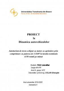 Autoturism de teren echipat cu motor cu aprindere prin comprimare cu puterea de 113kW la turatia nominala 4150 rotatii pe minut - Pagina 2