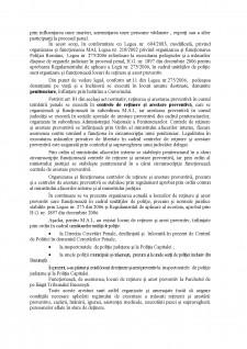 Organizarea și funcționarea centrelor de reținere și arest preventiv în cadrul unităților de poliție - Pagina 2