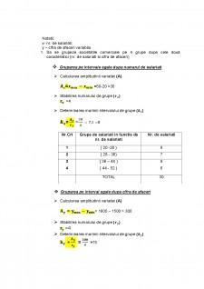 Studiu de caz statistică economică - realizarea unui studiu pe bază unui eșantion de 30 firme - Pagina 3