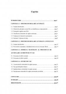 Studiul și proiectarea unui sistem de reglare automată a nivelului - Pagina 2