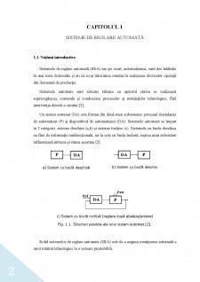 Studiul și proiectarea unui sistem de reglare automată a nivelului - Pagina 4