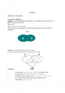Mulțimi - Pagina 1