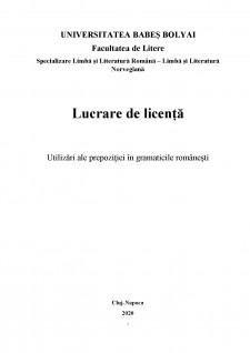 Utilizări ale prepoziției în gramaticile românești - Pagina 2