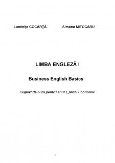 Business English Basics - Pagina 1