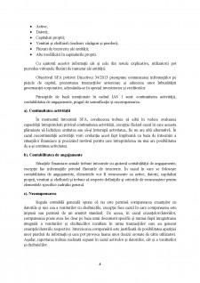 Modele si structuri privind situatiile financiare anuale, conform IAS 1 - Situatii financiare anuale si Directiva 34-2013 - Pagina 4