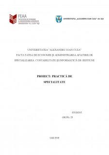 Practică conta - Pagina 1