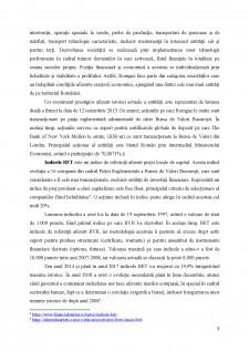Analiza portofoliului format din acțiunile BRD Groupe Societe Generale S.A. și S.N.G.M. Romgaz S.A - Pagina 5
