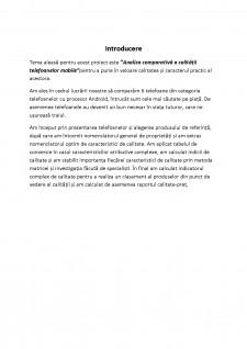 Analiza comparativă a calității telefoanelor mobile - Pagina 2