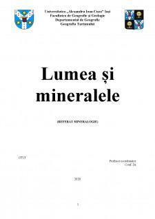 Lumea și mineralele - Pagina 1