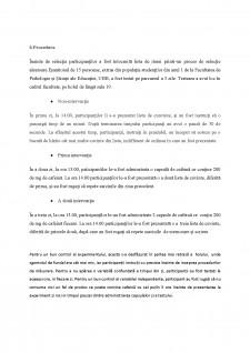 Relația dintre cafeina și memoria de lucru - Pagina 4