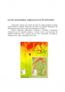 Modificări ale serviciilor ecosistemice - analizate la nivelul Depresiunii Vulcana Băi - Pagina 2