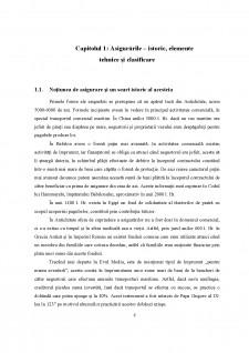 Elemente conceptuale și evoluții ale asigurărilor de bunuri și persoane în context internațional - Pagina 4