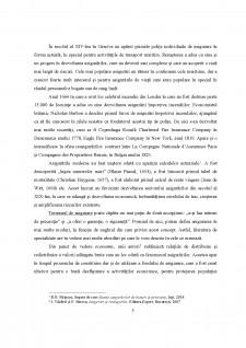 Elemente conceptuale și evoluții ale asigurărilor de bunuri și persoane în context internațional - Pagina 5