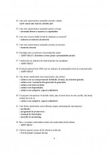 Grile examen marketing internațional - Pagina 4