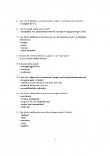 Grile examen marketing internațional - Pagina 5