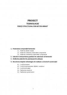 Pereți structurali din beton armat - Pagina 1