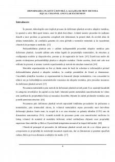 Deformarea plastică severă a aliajelor prin metoda equal channel angular extrusion - Pagina 3